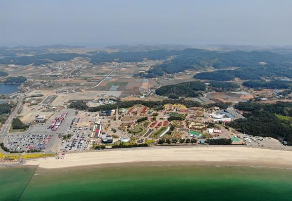 태안 꽃지해변 코리아플라워파크